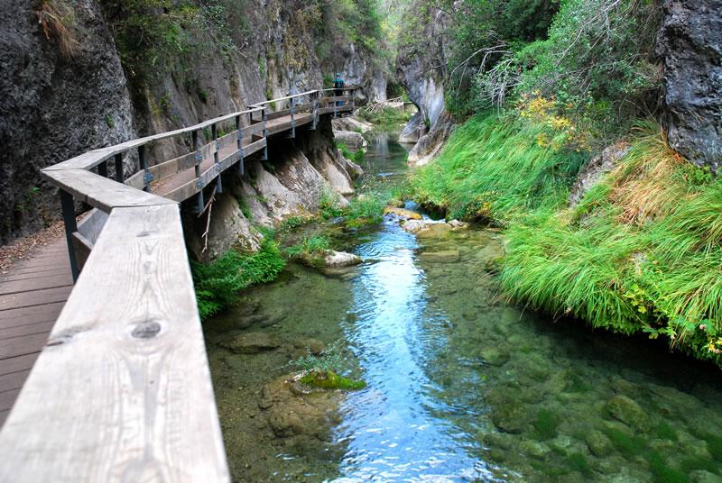 Sierra de Cazorla, zonas de baño