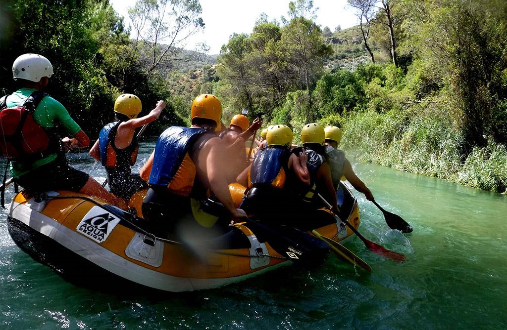Rafting - Actividades Cazorla Rural