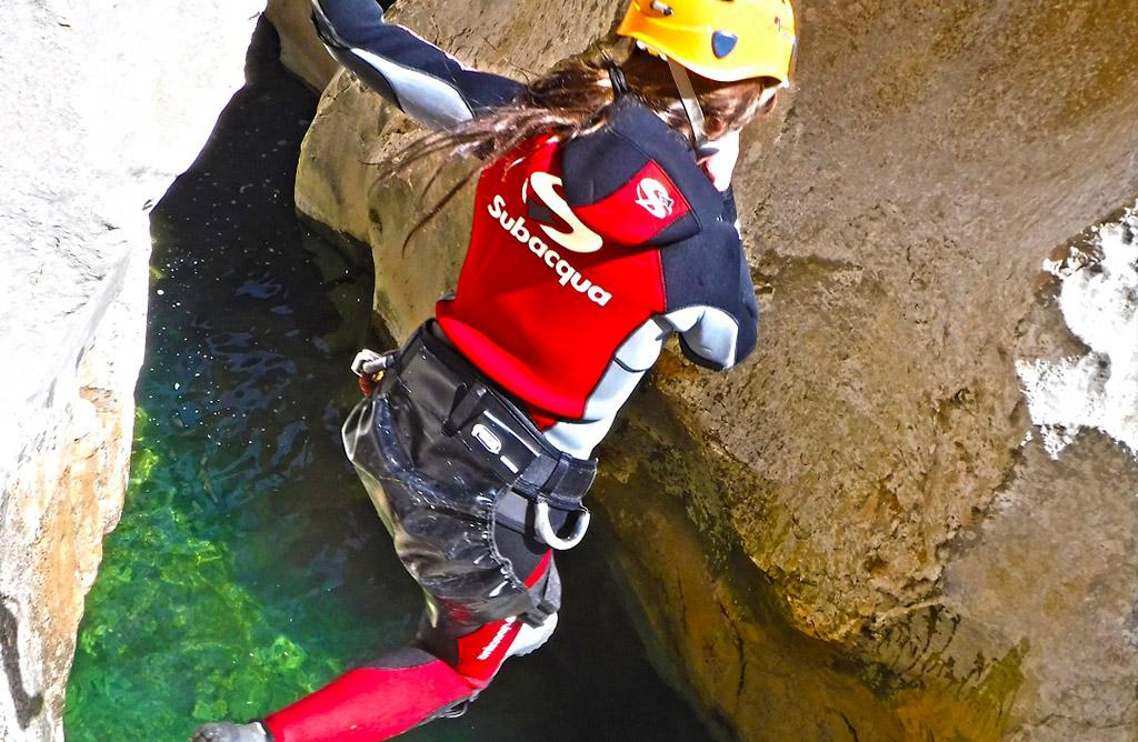 Descenso de barrancos - Actividades Cazorla Rural - Pack Aventura