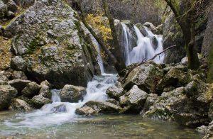 nacimiento rio guadalquivir en Sierra de Cazorla