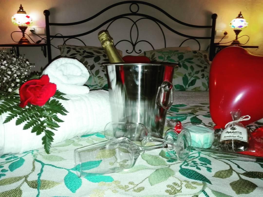 Bienvenida romántica