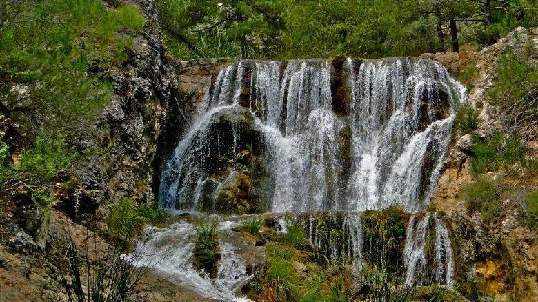 cascada guazalamanco Sierra de Cazorla