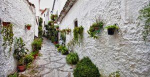 Casas rurales en el casco antiguo de Quesada