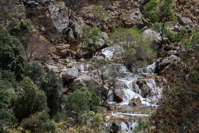 vacaciones de verano en Sierra de Cazorla, naturaleza