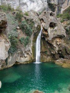 ruta del rio borosa, cascadas y zonas de baño