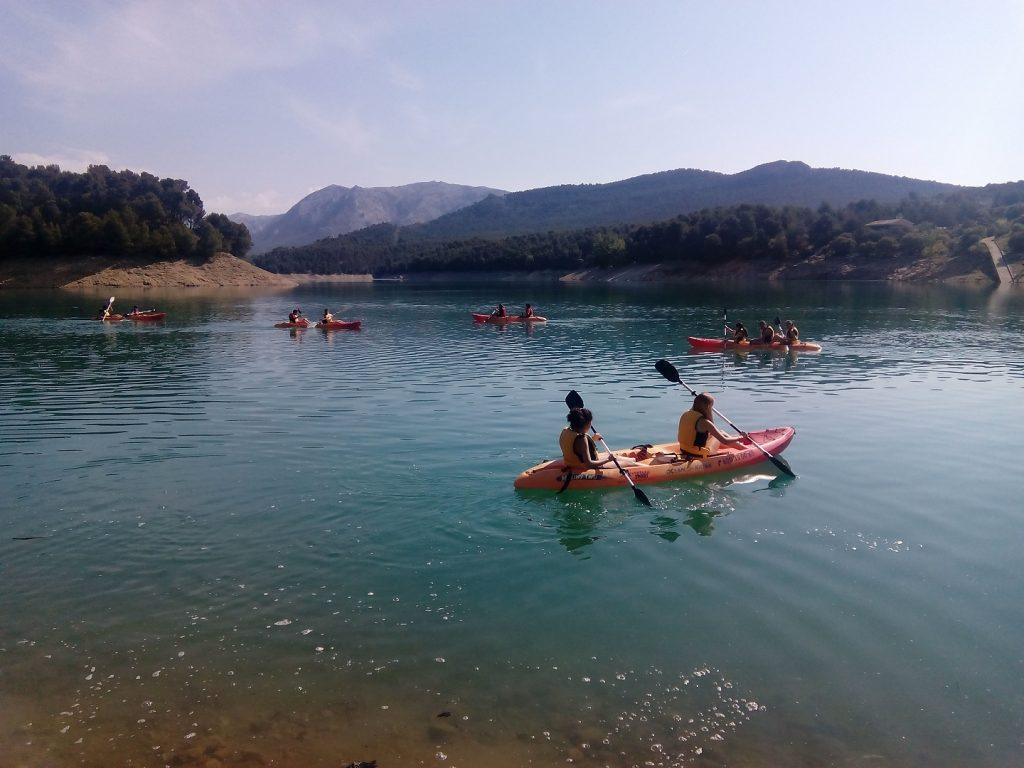 kayak en sierra de cazorla. Pack aventura en cazorla rural