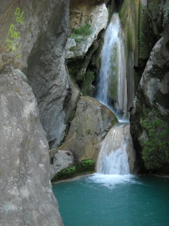 Pilón azul en Belerda, Quesada. Sierra de Cazorla