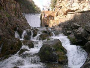 cerrada del utrero en sierra de cazorla, rio guadalquivir