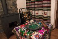 Salon Chimenea Casa Rural Guadalentin