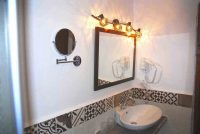 Mirror Hair Dryer Cazorla Rural House Guadalentin
