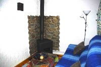 Wood Stove Cazorla Rural House Guadalquivir