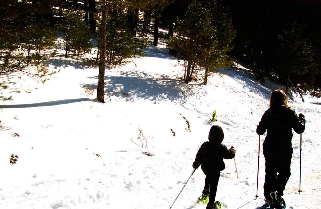 Raquetas en Nieve Cazorla Rural