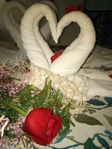 bienvenida romantica especial en casa rural de quesada