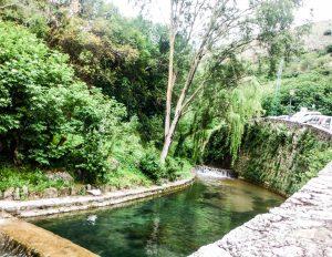 ruta de senderismo por el rio cerezuelo mas alojamiento