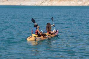actividades de aventura en sierras de cazorla, casa rural en quesada con paseos en kayak