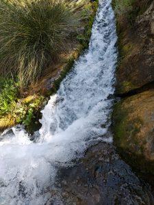 ruta de senderismo por el rio arteson, en parque natural sierras de cazorla